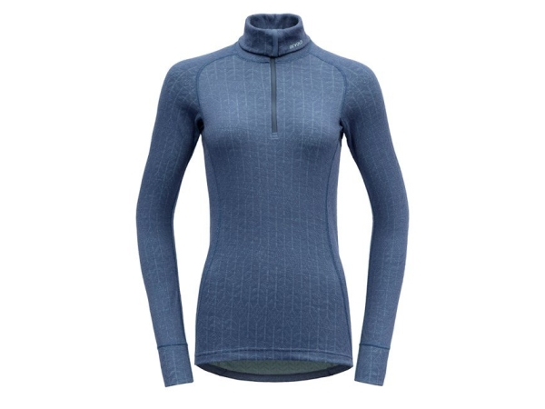 Devold Duo Active Woman Zip Neck Vintage